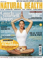 Natural Health Magazine March 2012 Cover
